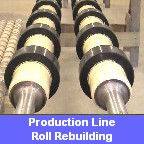 Glass Line Roll Rebuilding